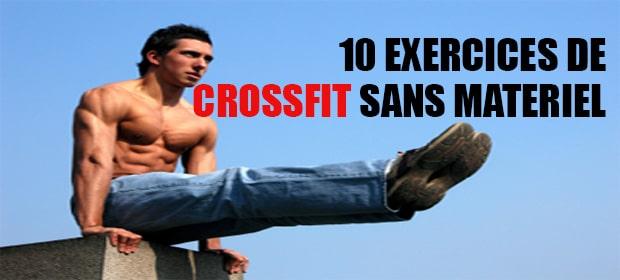 Exercices sans matériel