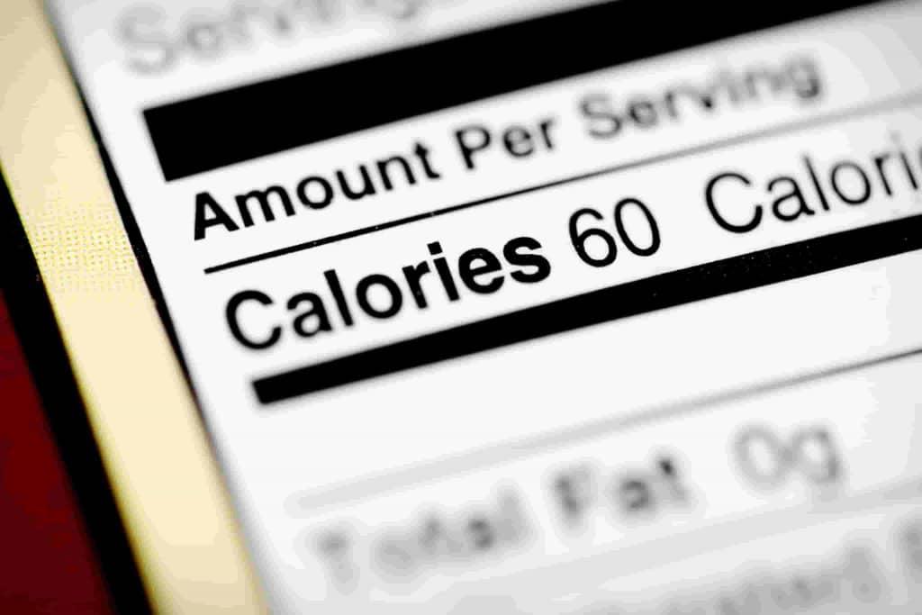 Les calories comptent