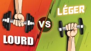 S'entraîner LOURD ou LÉGER pour gagner du muscle ?