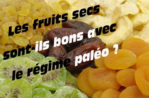 fruits secs régime